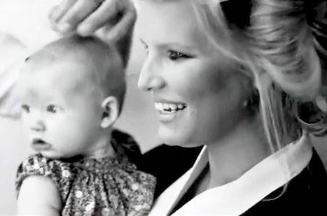 Jessica Simpson Parades Daughter Maxwell Backstage at Fashion Star: &quot;Isn&#39;t She Cute?&quot;