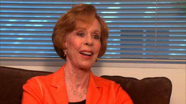 Backstage: Carol Burnett