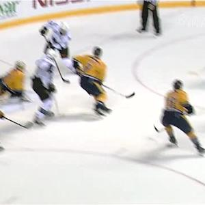 Patrick Marleau redirects one behind Hutton