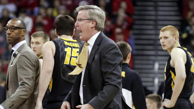 Big Ten suspends Iowa's McCaffery for 1 game