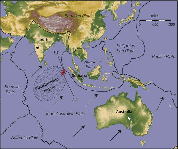Weird 2012 Quake Signals Tectonic Plate Birth