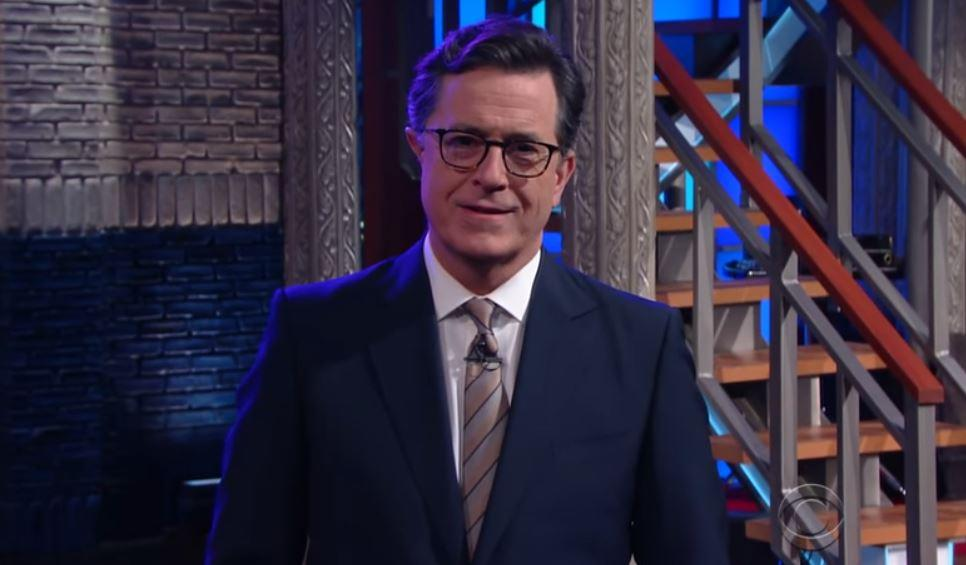 Stephen Colbert: Donald Trump Inaugural Address Positively Lincolnish