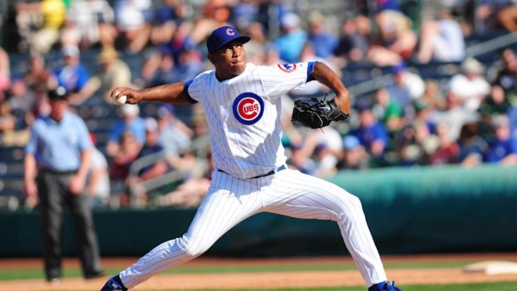 MLB: Spring Training-Kansas City Royals at Chicago Cubs
