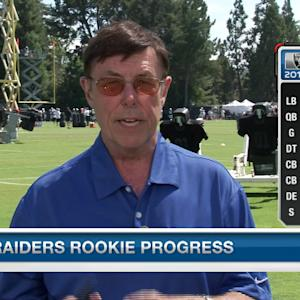 Oakland Raiders rookie progress