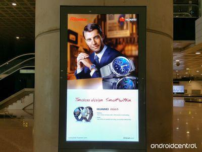 Huawei ad mistakenly reveals new Android Wear smartwatch