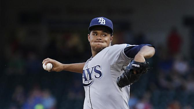 Archer fans 12 for Rays in 10-1 win over Rangers