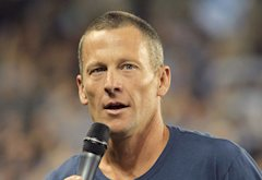 Lance Armstrong | Photo Credits: Jamie Squire/Getty Images