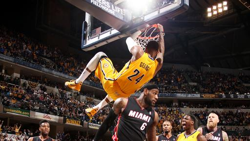 Pacers use rally late to beat Heat 84-83