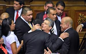 The new president of the Venezuelan parliament, Henry …