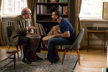 Richard Jenkins and Haaz Sleiman in Overture Films' The Visitor