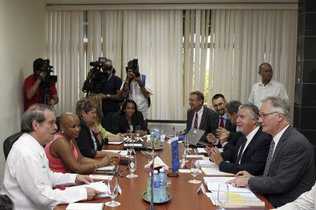 Cuba, EU renew talks on relations; will discuss human rights