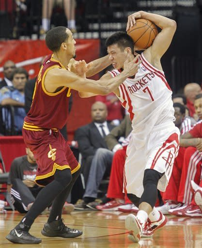 Harden leads Rockets' 116-78 rout of Cavs