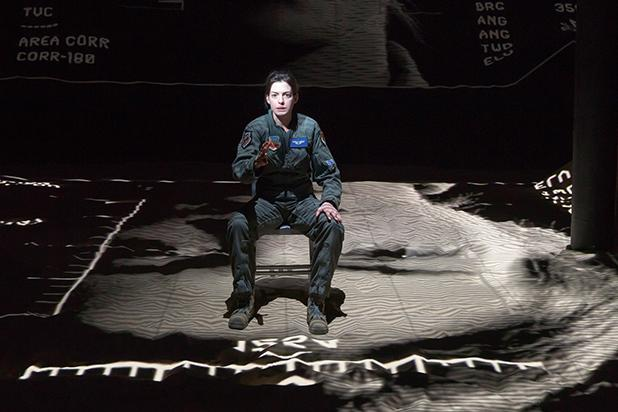 'Grounded' Theater Review: Anne Hathaway Makes Tough Transition From Fighter Pilot to Drone Operator