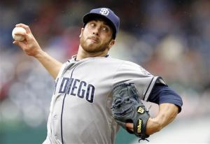 Bass outpitches Strasburg, Padres beat Nats 6-1