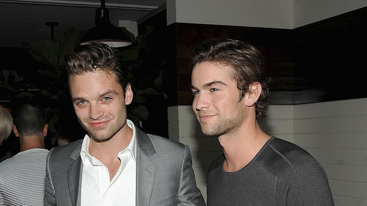 Inglourious Basterds NY Screening 2009 Sebastian Stam Chace Crawford