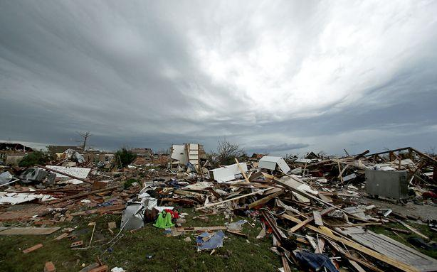 Every Tornado in Moore Since 1893, Mapped