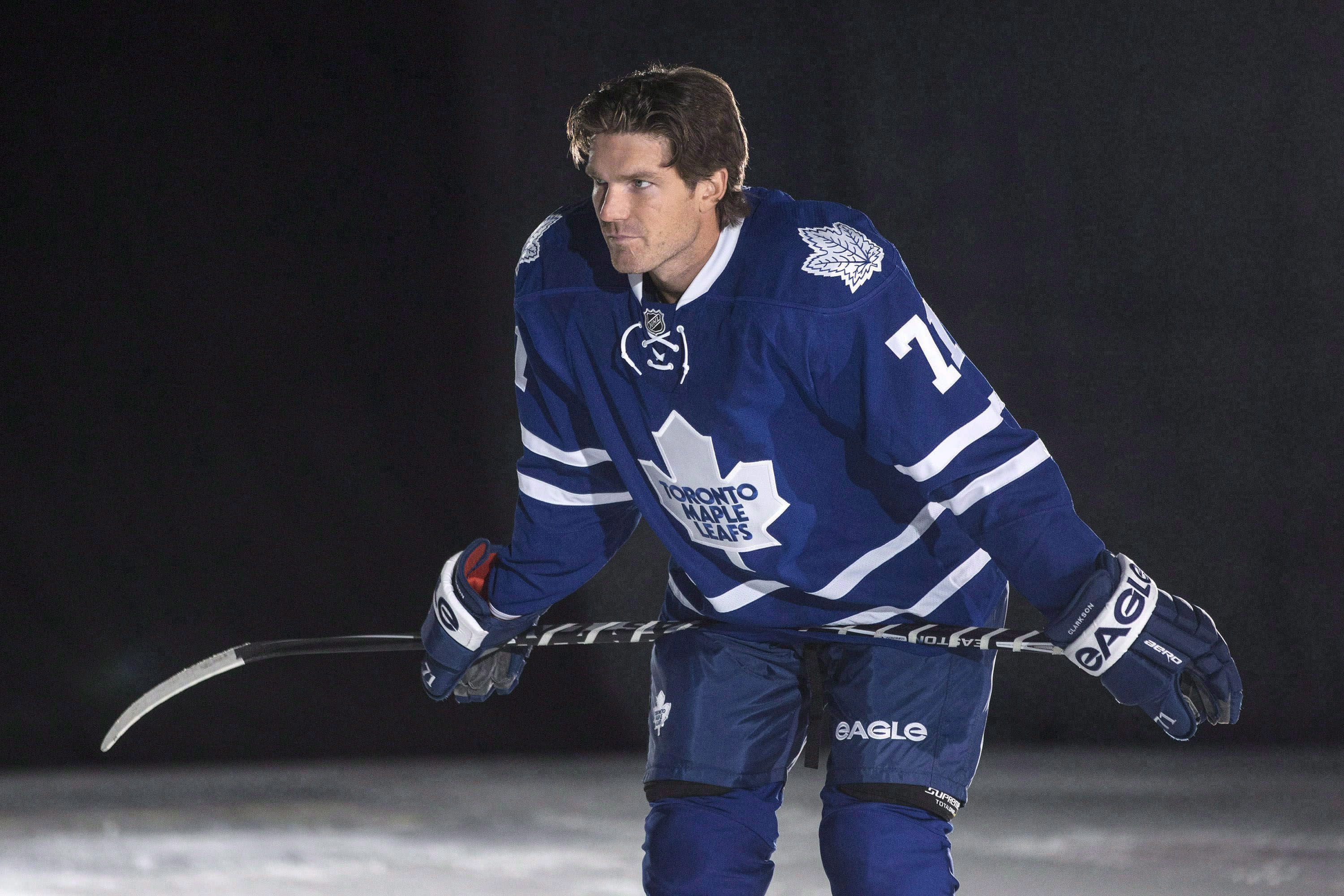 CBJ trade injured Nathan Horton to Leafs for David Clarkson