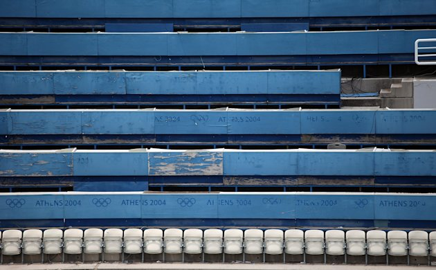 The Athens Olympic Complex Seven Years After The 2004 Event Was Held In Greece