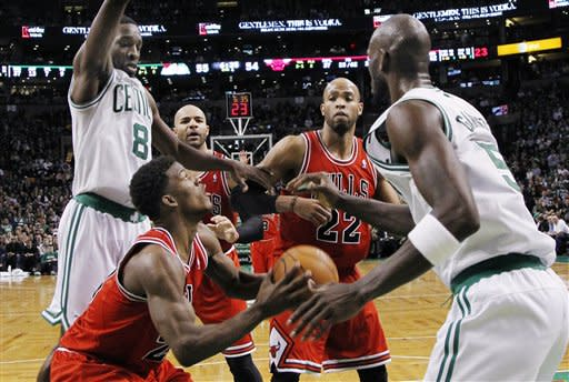 Bulls Celtics Basketball