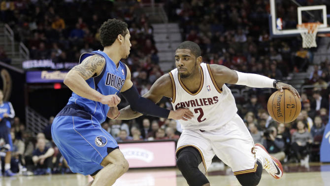 Ellis, Marion lead Mavericks past Cavaliers 102-97