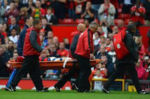 Rooney 'out for a month' after being hospitalized with horror thigh gash