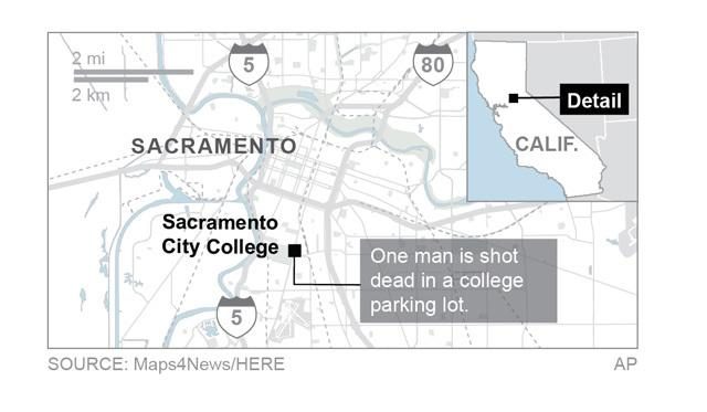 Sacramento community college reopens after deadly shooting