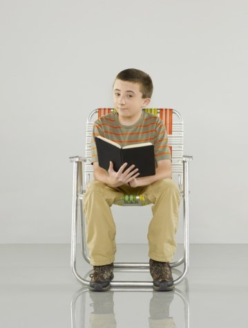 """The Middle"" stars Atticus Shaffer as Brick."