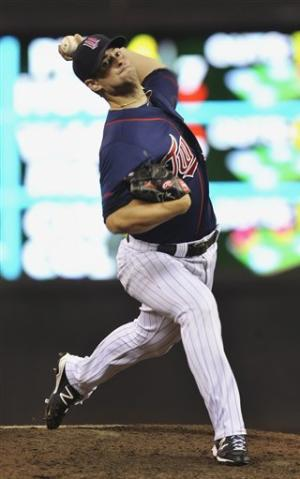 Diamond tosses 3-hitter as Twins win