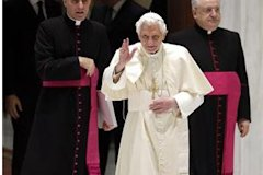 Pope Benedict at the Vatican (Max Rossi/Reuters)