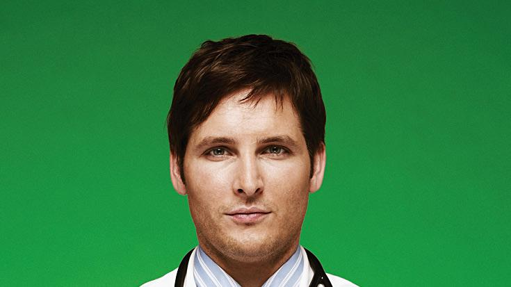 "Peter Facinelli as Dr. Cooper in ""Nurse Jackie."""