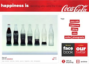 How Your Branded Content Can Thrive on Tumblr image branded content tumblr coca cola