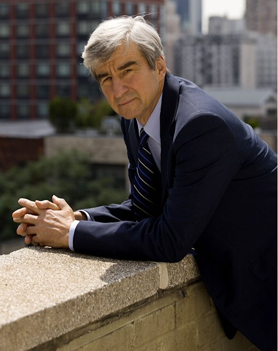 Sam Waterston stars as Jack McCoy in Law & Order on NBC.
