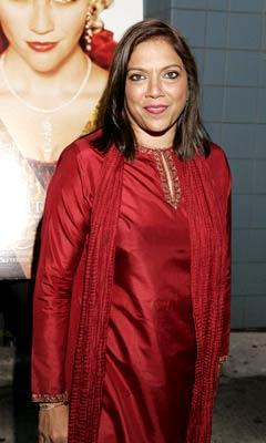 Director Mira Nair at the New York premiere of Focus Features' Vanity Fair