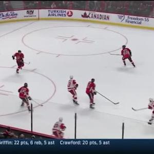 Craig Anderson Save on Danny DeKeyser (19:18/1st)