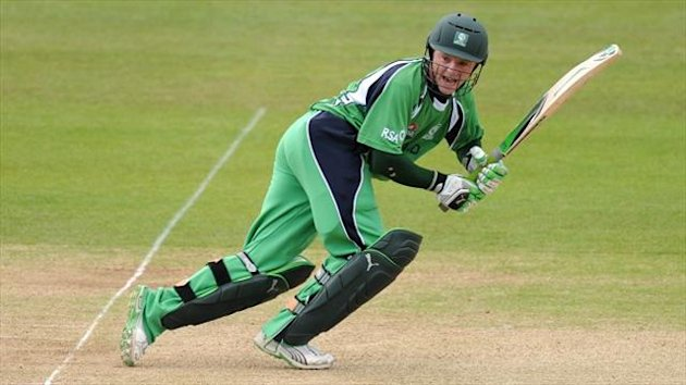 Niall O'Brien struck 70 for Ireland
