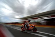 World champion Casey Stoner, pictured in July 2012, will miss Sunday's Czech Grand Prix after heading home to Australia to undergo surgery on his broken ankle and admitted his title defence is virtually over