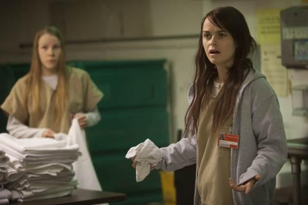 Taryn Manning as Tiffany 'Pennsatucky' Doggett -- Netflix
