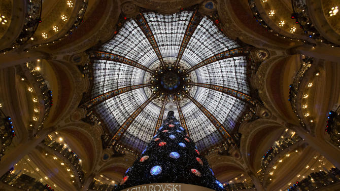Christmas comes slowly to austerity-hit Europe