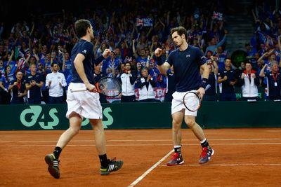 2015 Davis Cup final results: Andy Murray, Jamie Murray give Great Britain crucial lead on Day 2