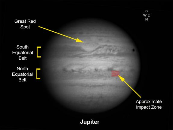Explosion on Jupiter Spotted by Amateur Astronomers