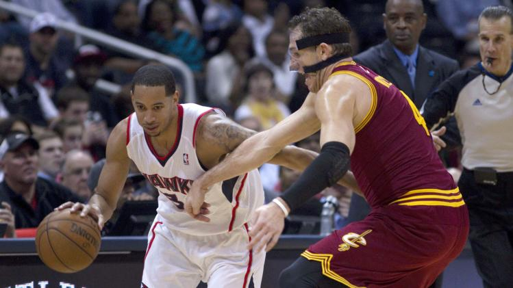 NBA: Cleveland Cavaliers at Atlanta Hawks
