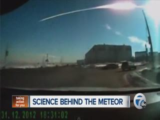 Science behind the meteor