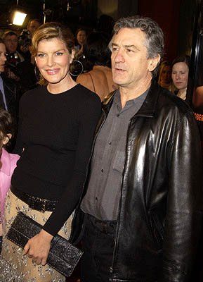 Rene Russo and Robert De Niro at the Hollywood premiere of Warner Brothers' Showtime