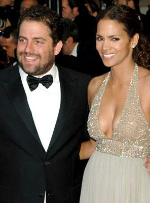 Director Brett Ratner and Halle Berry at the 2006 Cannes Film Festival premiere of 20th Century Fox's X-Men: The Last Stand