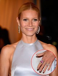 Gwyneth Paltrow's Met gala nails -- Getty Images