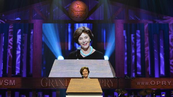 Laura Bush, Country Superstars, Honor the Late George Jones at Touching Memorial