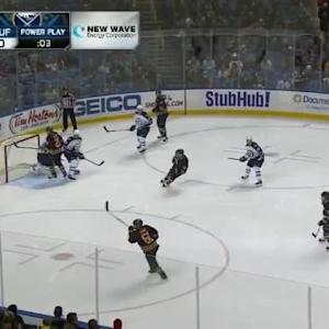 Ondrej Pavelec Save on Drew Stafford (01:12/2nd)