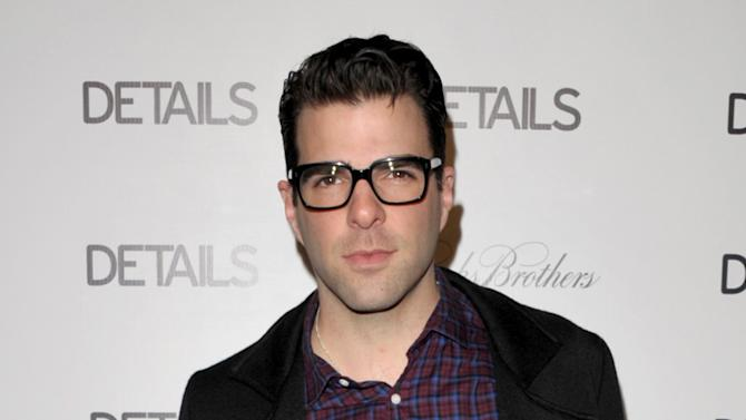 IMAGE DISTRIBUTED FOR DETAILS MAGAZINE - Zachary Quinto attends DETAILS Hollywood Mavericks Party on Thursday, Nov. 29, 2012 in Los Angeles. (Photo by John Shearer/Invision for Details Magazine/AP Images)