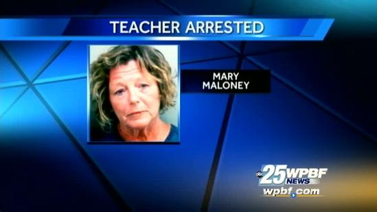 Teacher's DUI arrest not her first run-in with law
