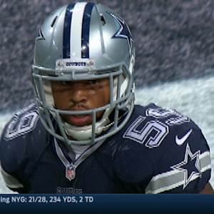 Dallas Cowboys linebacker Anthony Hitchens' pulls weight in win